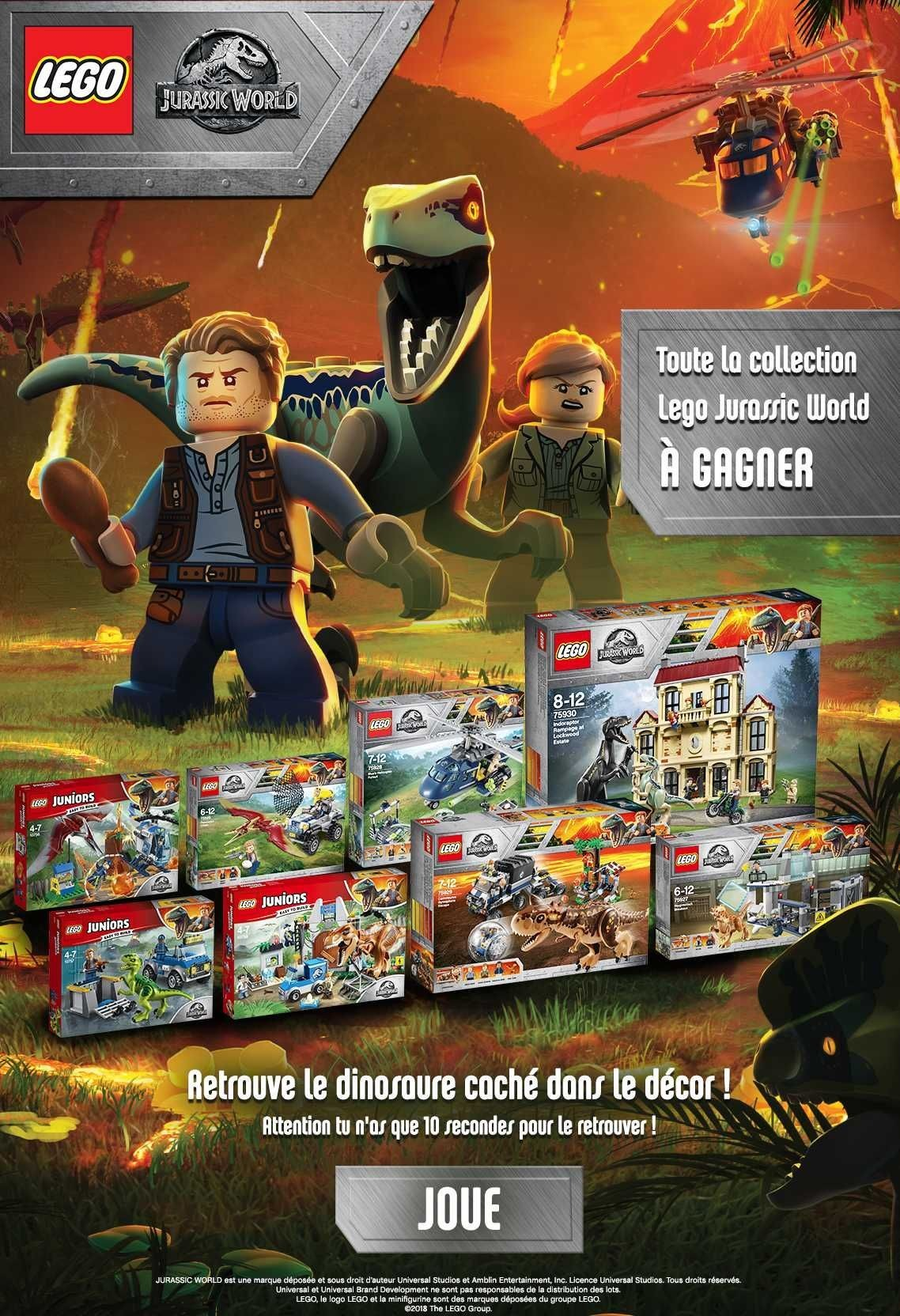 Coloriage Magique Jurassic World.Gulli Replay