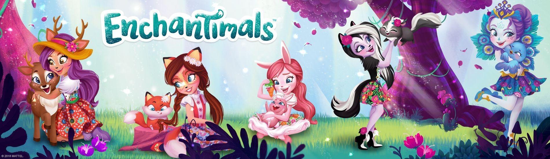 Coloriage De Enchantimals.Enchantimals