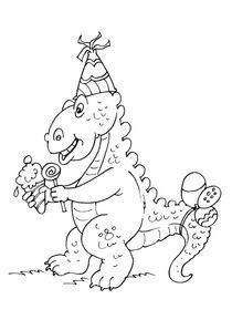 anniversaire dinosaure stgosaure - Coloriage De Dinosaure A Imprimer