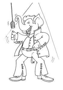 Coloriages Elephants A Imprimer Coloriages Animaux