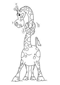 Modele Coloriage Girafe.Coloriages Girafes A Imprimer Coloriages Animaux