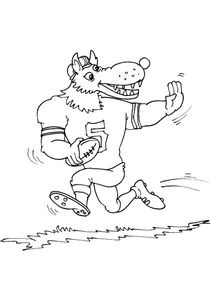 Coloriage Famille Loup.Coloriages Loups A Imprimer Coloriages Animaux