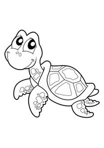 Coloriage Bebe Tortue.Coloriages Tortues A Imprimer Coloriages Animaux