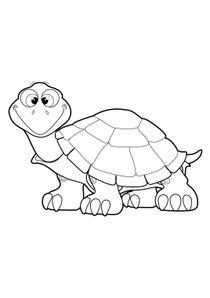 Dessin De Tortue coloriages tortues à imprimer - coloriages animaux