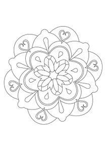Coloriage Gratuit Imprimer Mandala.Coloriages Mandalas A Imprimer Coloriages Chiffres Et Formes