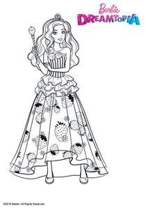 Coloriages Barbie Dreamtopia A Imprimer Coloriages Dessins Animes