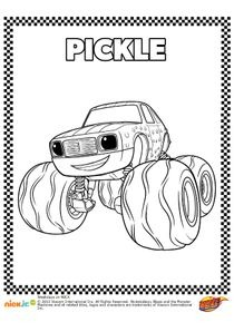 Coloriage Blaze Pdf.Coloriages Blaze Et Les Monster Machines A Imprimer Coloriages