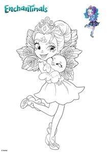 Coloriage De Enchantimals.Coloriages Enchantimals A Imprimer Coloriages Dessins Animes
