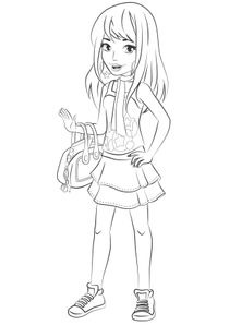 Coloriage Princesse Lego.Coloriages Lego Friends A Imprimer Coloriages Dessins Animes