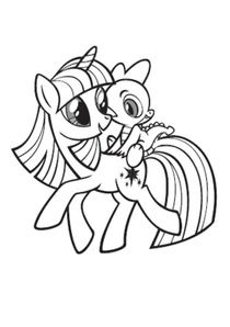Coloriages My Little Pony A Imprimer Coloriages Dessins Animes