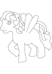 Coloriage Bebe Poney.Coloriages My Little Pony A Imprimer Coloriages Dessins Animes
