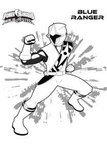 Power Rangers Ninja Steel Coloriage