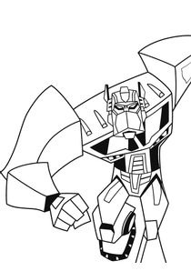 Coloriage Facile Transformers.Coloriages Transformers A Imprimer Coloriages Dessins Animes