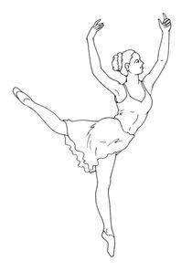 Coloriage Danseuse Gratuit Imprimer.Coloriages Danseuses A Imprimer Coloriages Metiers