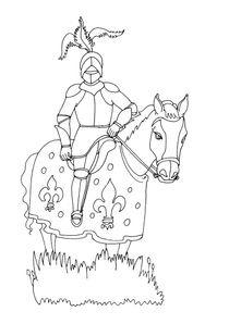 Coloriage Chevalier Du Zodiac.Coloriages Chevaliers A Imprimer Coloriages Personnages
