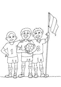 Coloriage Sport Foot.Coloriages Football A Imprimer Coloriages Sports