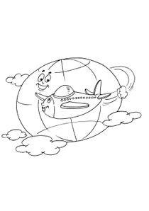 Coloriage Avion Cargo.Coloriages Avions A Imprimer Coloriages Transports