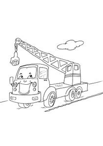 Coloriage Facile Camion.Coloriages Camions A Imprimer Coloriages Transports