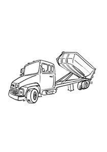 Coloriage Gros Camion.Coloriages Camions A Imprimer Coloriages Transports