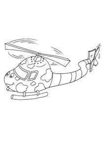 Coloriage Camion Samu.Coloriages Helicopteres A Imprimer Coloriages Transports