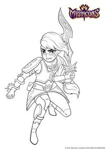 Coloriages Mysticons à imprimer - Coloriages Dessins animes