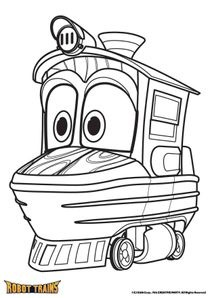 Dessin Anime Robot Train Steadlane Club