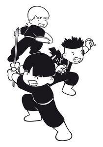 Coloriages shuriken school imprimer coloriages dessins animes - Dessin anime shuriken school ...
