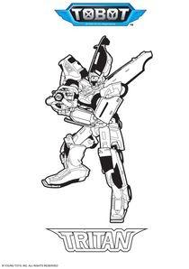 Coloriages tobot imprimer coloriages dessins animes - Coloriage tobot ...