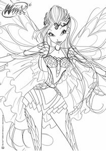 Coloriages winx club imprimer coloriages dessins animes - Bloom dessin anime ...