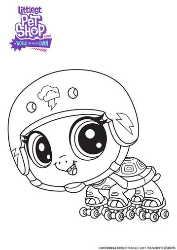 coloriages littlest petshop a world of our own