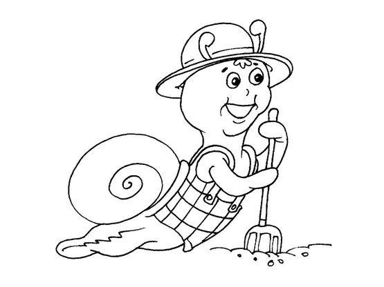 Coloriage Animaux Escargot.Coloriage Escargot 23 Coloriage Escargots Coloriages Animaux