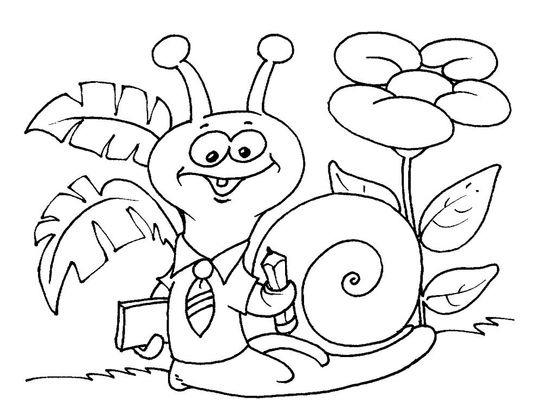 Coloriage Animaux Escargot.Coloriage Escargot 26 Coloriage Escargots Coloriages Animaux