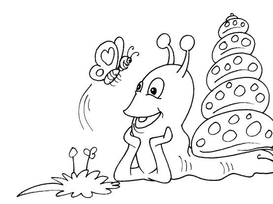 Coloriage Animaux Escargot.Coloriage Escargot 29 Coloriage Escargots Coloriages Animaux