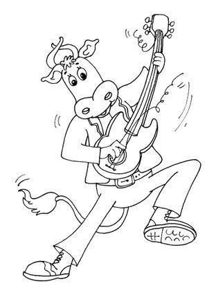 Coloriage Animaux Vache.Coloriage Vache 21 Coloriage Vaches Coloriages Animaux