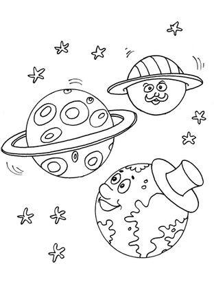Coloriage Espace Planete.Coloriage Planete 23 Coloriage Planetes Coloriages Ciel Et Espace