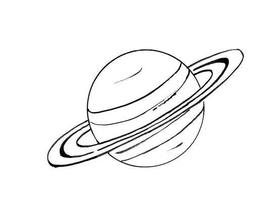 Coloriage Espace Planete.Coloriage Planete 6 Coloriage Planetes Coloriages Ciel Et Espace