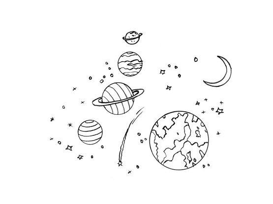 Coloriage Espace Planete.Coloriage Planete 7 Coloriage Planetes Coloriages Ciel Et Espace