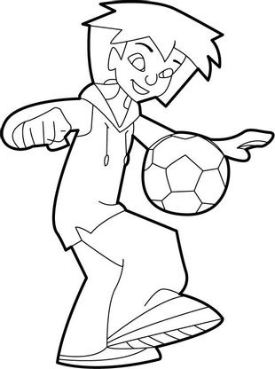 Coloriage Foot 2 Rue Extreme.Coloriage Foot 2 Rue 1 Coloriage Foot 2 Rue Coloriages Dessins