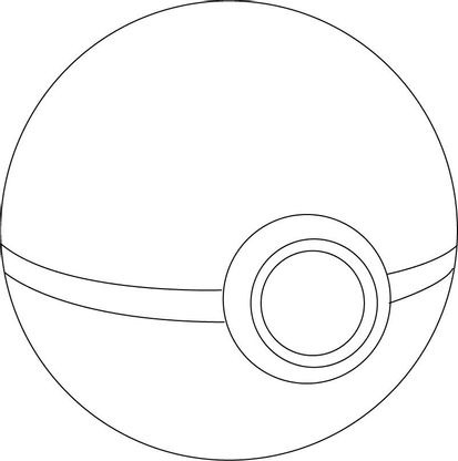 Coloriage Poké Ball Coloriage Pokemon Coloriages Dessins Animes