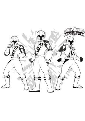 Coloriage Les Rangers Coloriage Power Rangers Ninja Steel