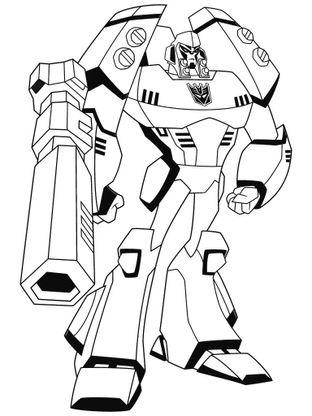 Coloriage En Ligne Transformers.Coloriage Transformers