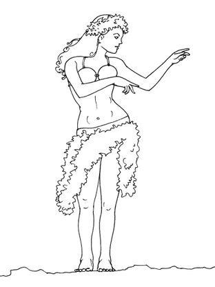 Coloriage Danseuse 12 Coloriage Danseuses Coloriages Metiers