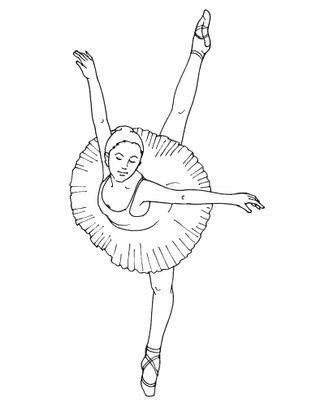 Coloriage Danseuse 14 Coloriage Danseuses Coloriages Metiers