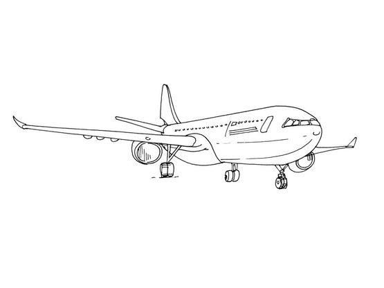 Coloriage Avion Profil.Coloriage Avion 6 Coloriage Avions Coloriages Transports