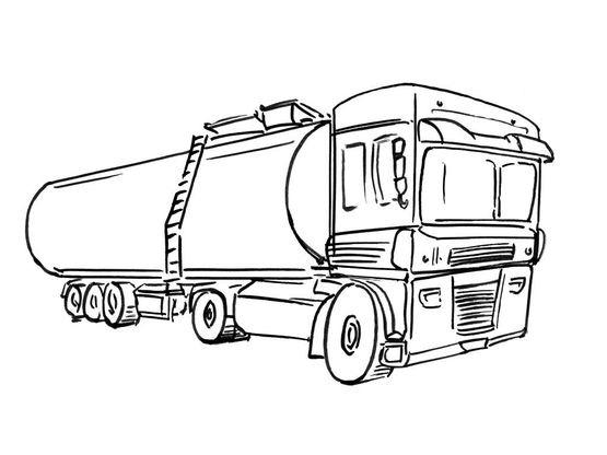 Coloriage De Camion De Transport.Coloriage Camion 15 Coloriage Camions Coloriages Transports