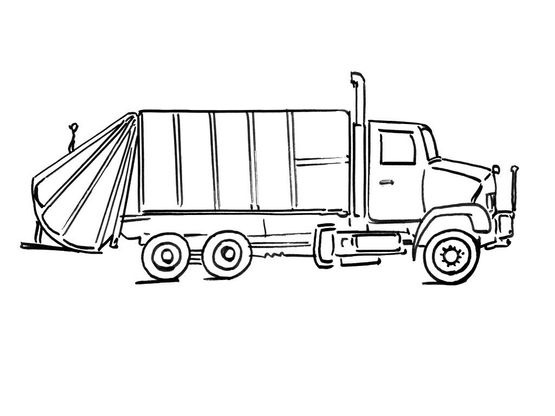 Coloriage De Camion De Transport.Coloriage Camion 6 Coloriage Camions Coloriages Transports