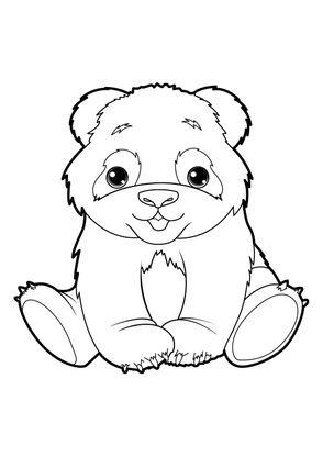 Coloriage panda 19 coloriage pandas coloriages animaux - Coloriage magique panda roux ...