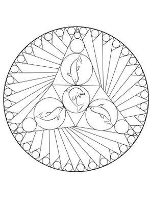 Coloriage mandala dauphin coloriage mandalas - Coloriage gulli fr ...