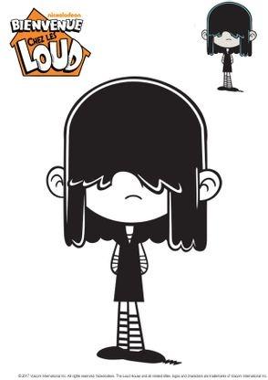 Coloriage Lucy - Coloriage Bienvenue chez les Loud ...