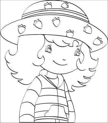 Coloriage charlotte aux fraises 2 coloriage charlotte aux fraises coloriages dessins animes - Coloriages charlotte aux fraises ...